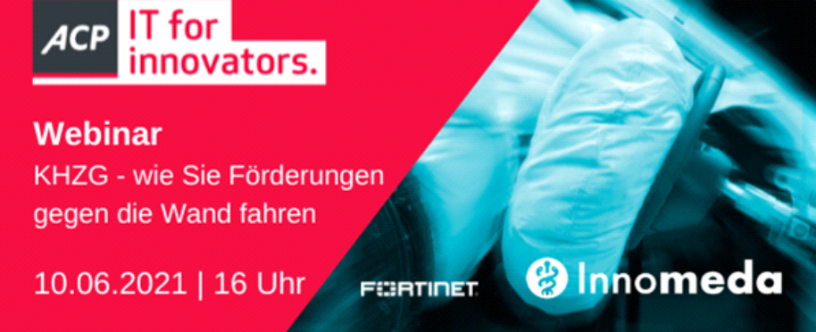Webinar mit ACP und Fortinet zum Krankenhauszukunftsgesetz (KHZG)